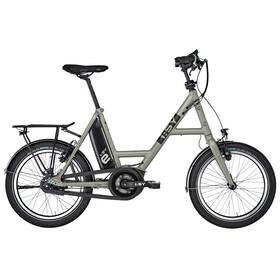 "i:SY DrivE S8 RT E-citybike 20"" sølv"
